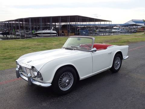 1963 Triumph TR4 for sale in Rowlett, TX