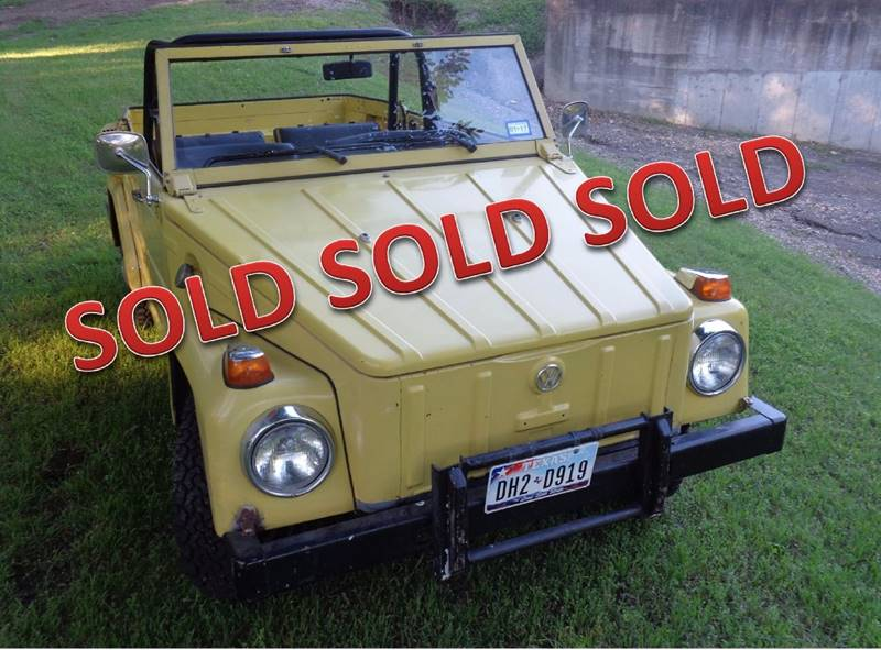 1974 Volkswagen Thing for sale at Enthusiast Motorcars of Texas in Rowlett TX