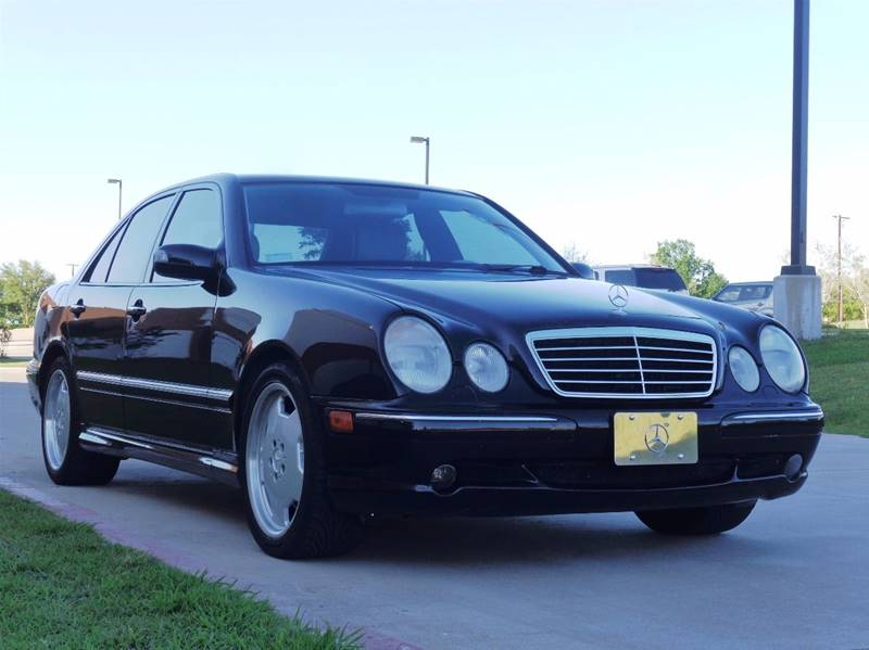 2001 mercedes benz e class e55 amg 4dr sedan in rowlett tx for 2001 mercedes benz e class sedan