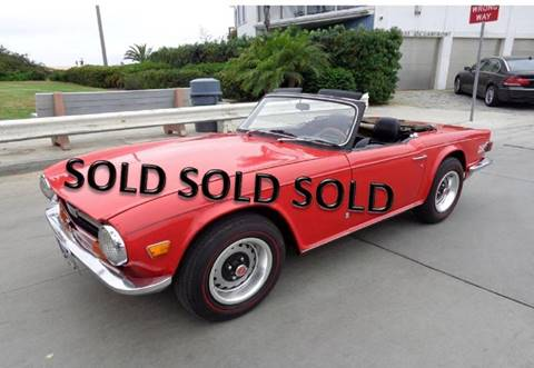 1971 Triumph TR6 for sale at Enthusiast Motorcars of Texas - Enthusiast Motorcars of Arizona in Phoenix AZ