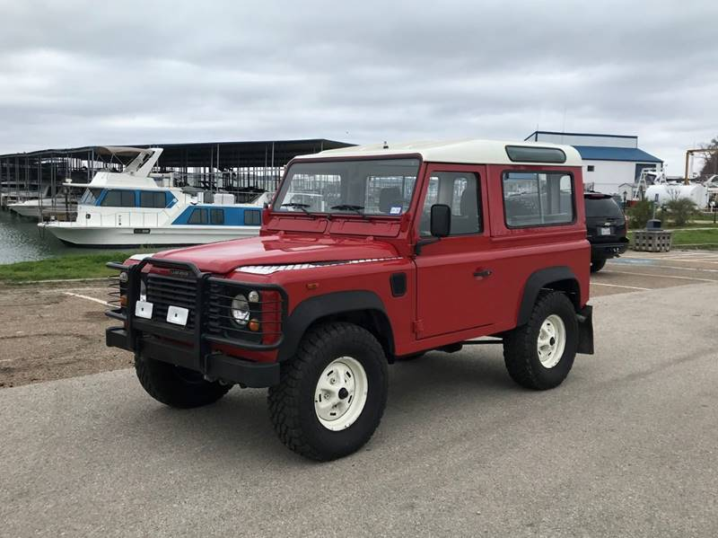 1989 Land Rover Defender for sale at Enthusiast Motorcars of Texas in Rowlett TX