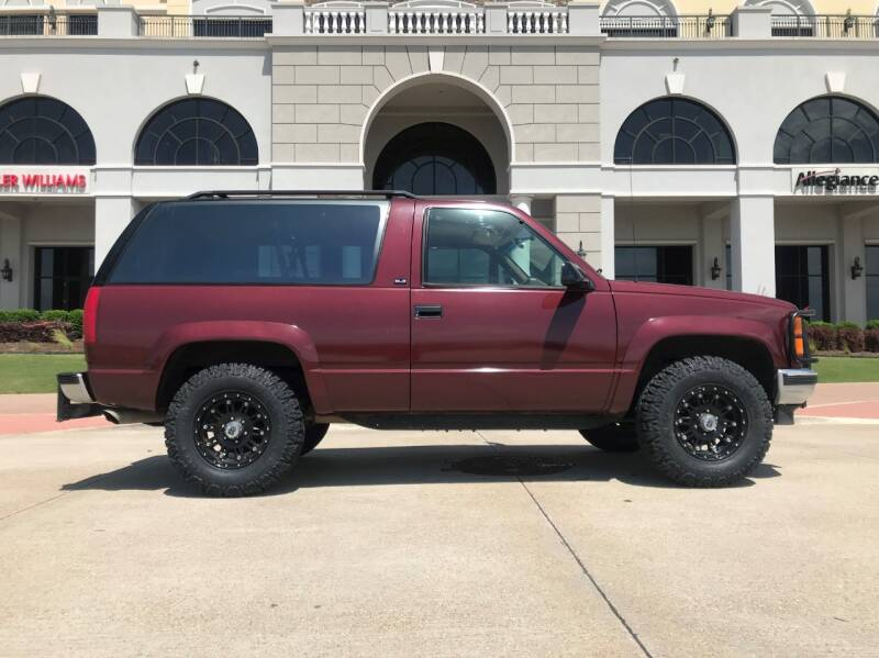 1994 GMC Yukon for sale at Enthusiast Motorcars of Texas in Rowlett TX