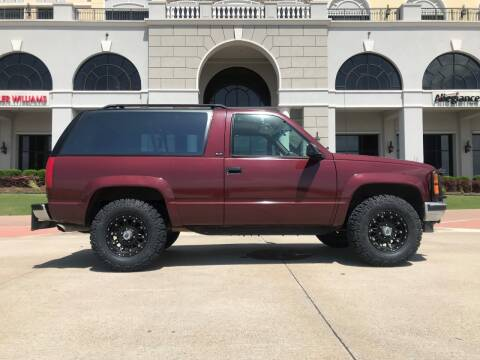 1994 GMC Yukon for sale at Enthusiast Motorcars of Texas in Rowlett TX