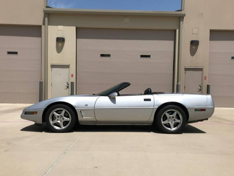 1996 Chevrolet Corvette for sale at Enthusiast Motorcars of Texas in Rowlett TX