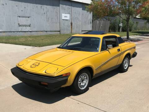1979 Triumph TR7 for sale at Enthusiast Motorcars of Texas in Rowlett TX