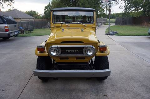 1976 Toyota Land Cruiser for sale at Enthusiast Motorcars of Texas in Rowlett TX