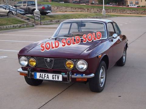 1973 Alfa Romeo GTV 2000 for sale at Enthusiast Motorcars of Texas in Rowlett TX