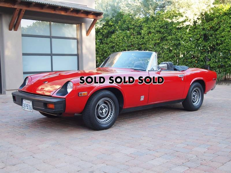 1974 Jensen Jealey JH5 for sale at Enthusiast Motorcars of Texas in Rowlett TX