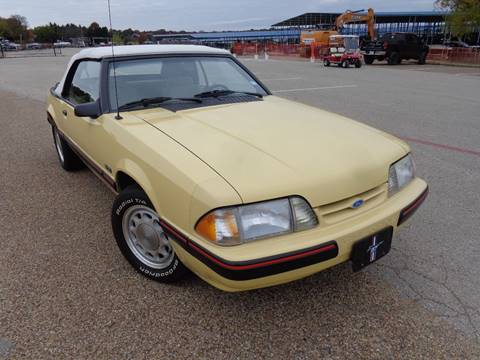 1987 Ford Mustang for sale in Rowlett, TX