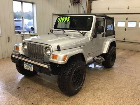 2005 Jeep Wrangler for sale in Cambridge, MN
