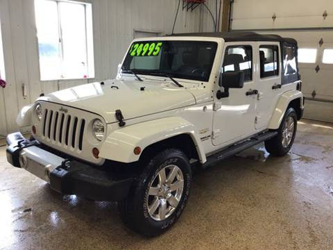 2013 Jeep Wrangler Unlimited for sale in Cambridge, MN