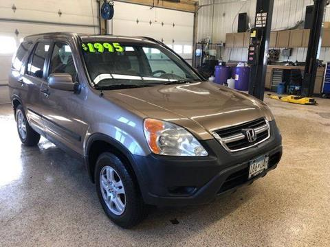 2002 Honda CR-V for sale at Sand's Auto Sales in Cambridge MN