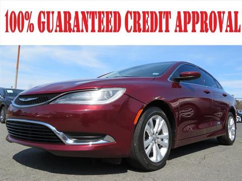 2015 Chrysler 200 for sale in Manassas, VA
