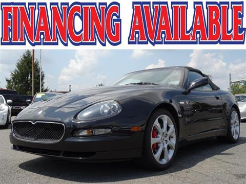 2005 Maserati Spyder for sale in Manassas, VA