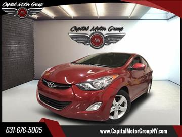 2012 Hyundai Elantra for sale at Capital Motor Group Inc in Ronkonkoma NY
