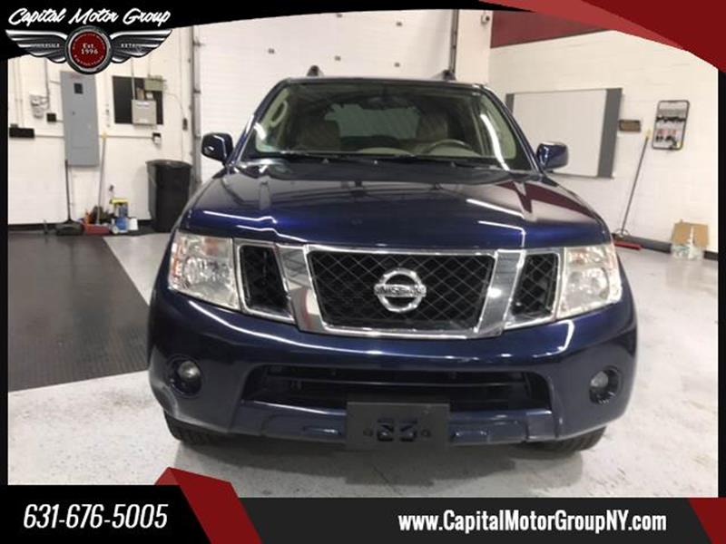 2010 Nissan Pathfinder for sale at Capital Motor Group Inc in Ronkonkoma NY