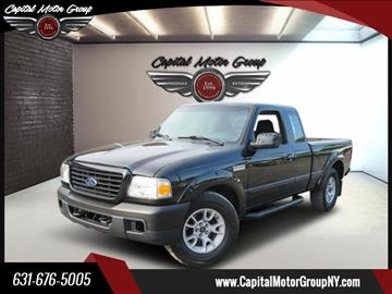 2008 Ford Ranger for sale at Capital Motor Group Inc in Ronkonkoma NY
