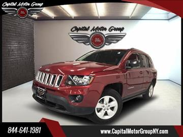 2014 Jeep Compass for sale at Capital Motor Group Inc in Ronkonkoma NY