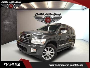 2010 Infiniti QX56 for sale at Capital Motor Group Inc in Ronkonkoma NY