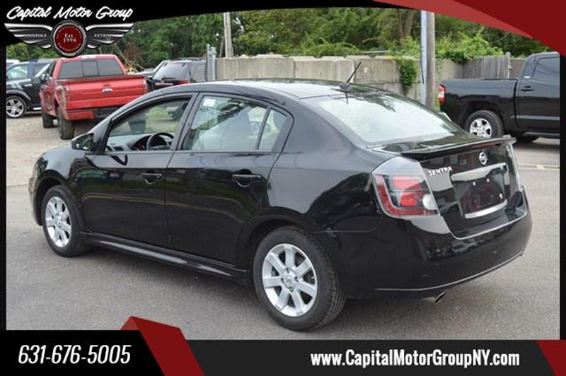 2012 Nissan Sentra for sale at Capital Motor Group Inc in Ronkonkoma NY