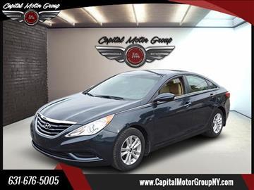 2011 Hyundai Sonata for sale at Capital Motor Group Inc in Ronkonkoma NY