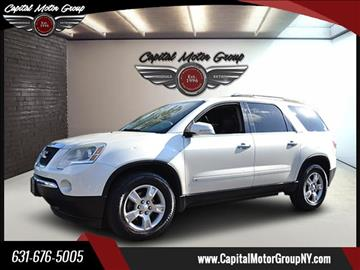 2009 GMC Acadia for sale at Capital Motor Group Inc in Ronkonkoma NY