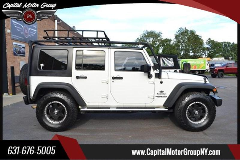2010 Jeep Wrangler Unlimited for sale at Capital Motor Group Inc in Ronkonkoma NY
