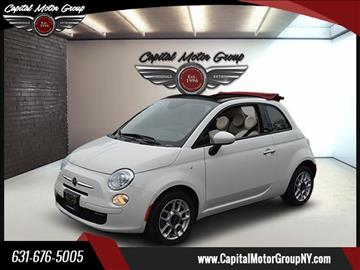 2014 FIAT 500c for sale at Capital Motor Group Inc in Ronkonkoma NY