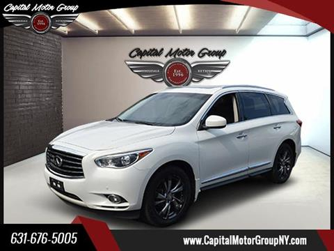 2013 Infiniti JX35 for sale at Capital Motor Group Inc in Ronkonkoma NY