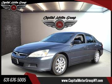 2006 Honda Accord for sale at Capital Motor Group Inc in Ronkonkoma NY