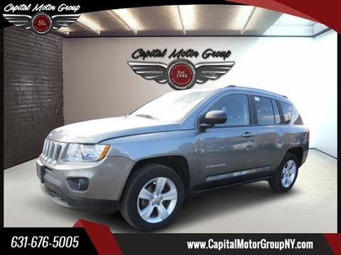 2013 Jeep Compass for sale at Capital Motor Group Inc in Ronkonkoma NY