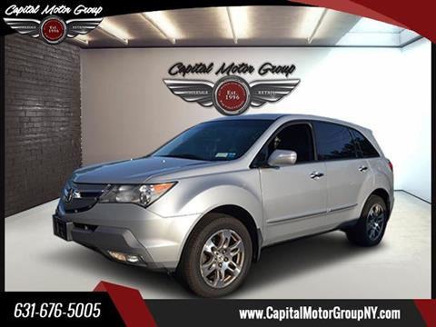 2009 Acura MDX for sale at Capital Motor Group Inc in Ronkonkoma NY