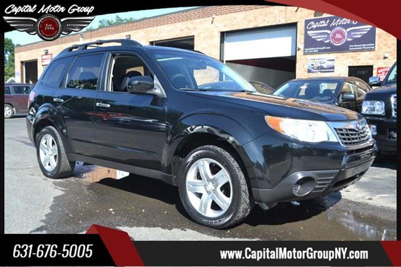 2009 Subaru Forester for sale at Capital Motor Group Inc in Ronkonkoma NY