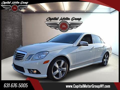 2010 Mercedes-Benz E-Class for sale at Capital Motor Group Inc in Ronkonkoma NY