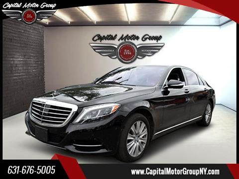 2014 Mercedes-Benz S-Class for sale at Capital Motor Group Inc in Ronkonkoma NY
