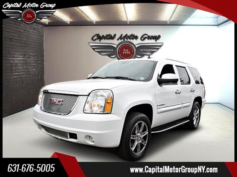 2007 GMC Yukon for sale at Capital Motor Group Inc in Ronkonkoma NY