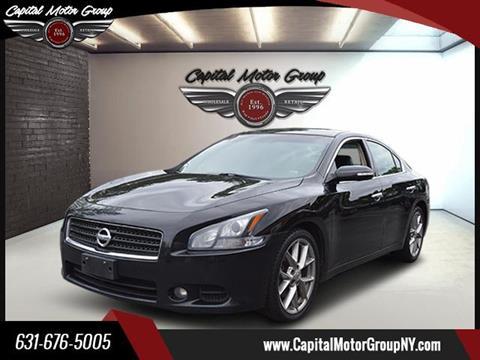 2011 Nissan Maxima for sale at Capital Motor Group Inc in Ronkonkoma NY