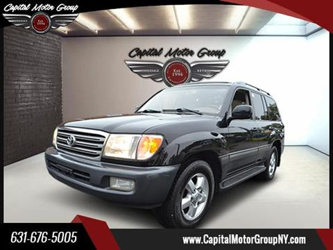 2004 Toyota Land Cruiser for sale at Capital Motor Group Inc in Ronkonkoma NY