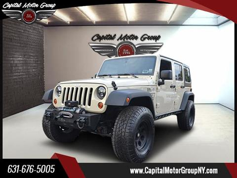 2011 Jeep Wrangler Unlimited for sale in Ronkonkoma, NY