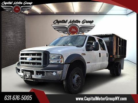 2006 Ford F-550 DUMP TRUCK for sale at Capital Motor Group Inc in Ronkonkoma NY