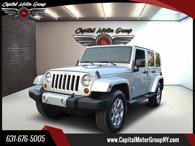 2011 Jeep Wrangler Unlimited for sale at Capital Motor Group Inc in Ronkonkoma NY