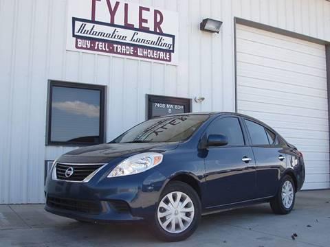 2012 Nissan Versa for sale in Oklahoma City, OK