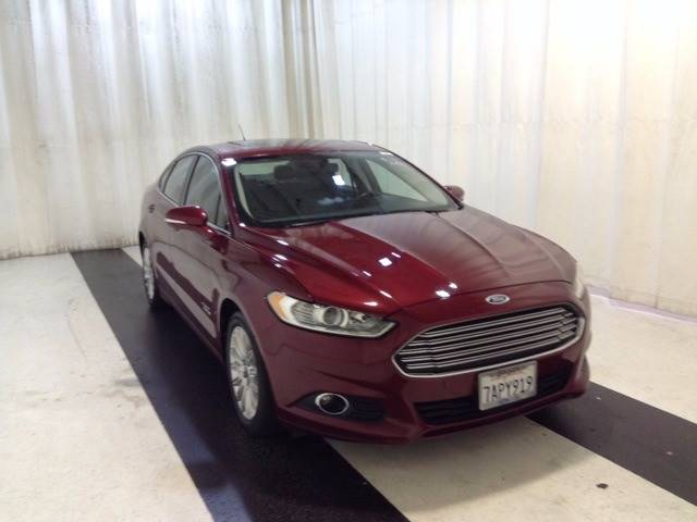 2013 Ford Fusion Energi SE 4dr Sedan - Orange CA