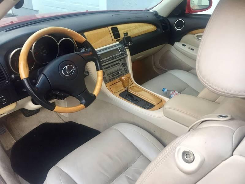 2003 Lexus SC 430 2dr Convertible - Orange CA