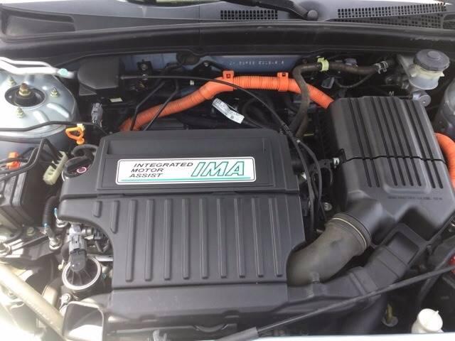 2005 Honda Civic Hybrid 4dr Sedan - Orange CA