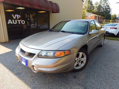 2003 Pontiac Bonneville for sale in Greenville, SC