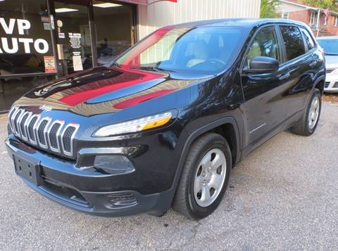 2015 Jeep Cherokee for sale at VP Auto in Greenville SC