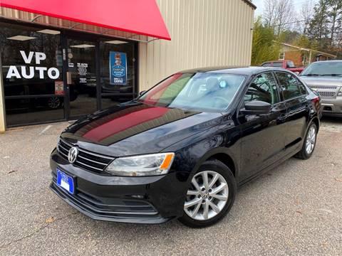 2015 Volkswagen Jetta for sale at VP Auto in Greenville SC