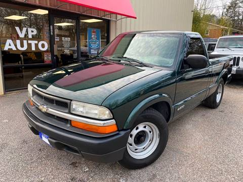 2002 Chevrolet S-10 for sale at VP Auto in Greenville SC