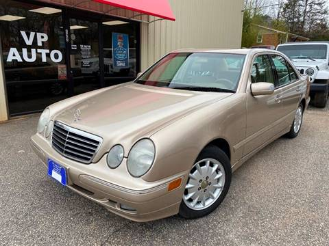 2001 Mercedes-Benz E-Class for sale at VP Auto in Greenville SC